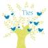 Geboortekaartje vogeltjesboom