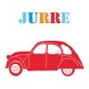 Geboortekaartje-auto-rood