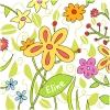 geboortekaart bloemen voor