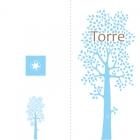 geboortekaartje Boom lang blauw-buiten