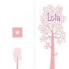 geboortekaartje boom op maat-buiten
