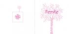 Geboortekaartje-roze-berk-buiten