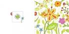 Geboortekaart bloemen buiten