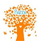 geboortekaartje herfstboom voor