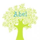 Geboortekaartje lenteboom