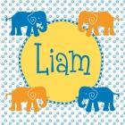 Geboortekaartje olifant