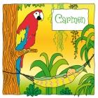 Geboortekaart papegaai