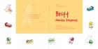 Geboortekaartje strooimeubeltjes geel binnen