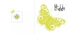 geboortekaartjes Vlinder buiten
